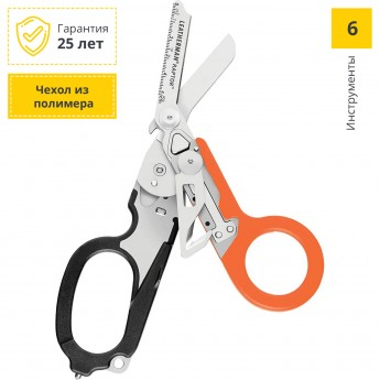 Мультитул LEATHERMAN RAPTOR BLACK&ORANGE 832170